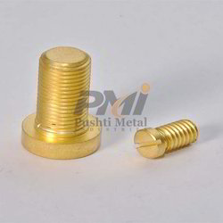 PMI Brass Security Screws, For Hardware Fitting, Packaging Type: Box