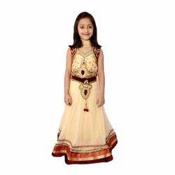 e59ea876db37 Designer Embroidered Kids Gown