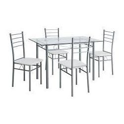 Steel Dining Table Set at Rs 18500 set Steel Dining Table Set
