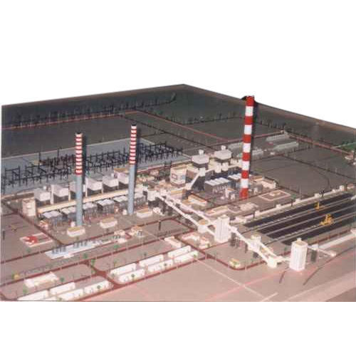 thermal power plant layout model in malad west, mumbai, dagson artthermal power plant layout model