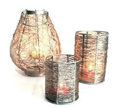 Wire Candle Votive