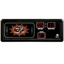 Om Photo Studio Clock