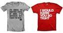 Single Color T Shirt Printing
