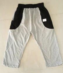 Non-stretchable Printed Capri Shorts For Men