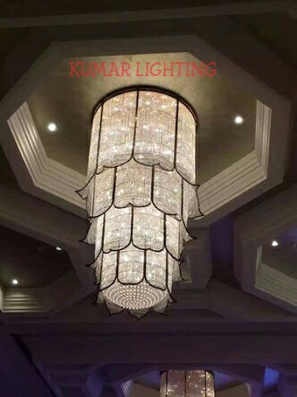 Banquet hall chandeliers at rs 100000 piece hanging jhumar banquet hall chandeliers aloadofball Images