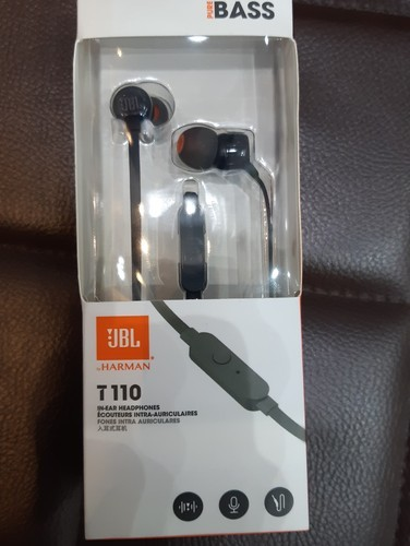 4ccb4d6e1f0 BLACK Rubber Jbl T110 Inear Wired Earphones With Mic, Rs 999 /piece ...