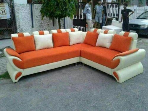 Cushion Back Sofa Set