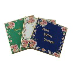 Box Invite Royal Decorative Wedding Card