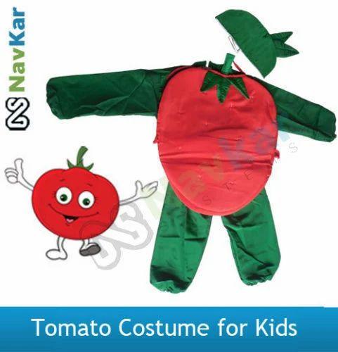 Tomato Costume for Kids Fancy Dress Costume Vegetable  sc 1 st  IndiaMART & Tomato Costume for Kids Fancy Dress Costume Vegetable Historical ...