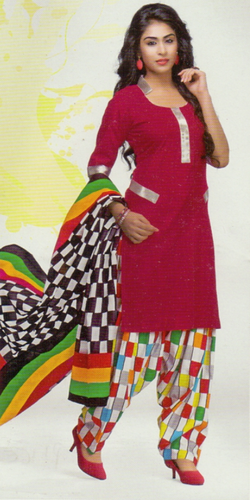 731583e77 Ladies Party Wear Cotton Suits at Rs 400 /piece(s) | Maharja Society ...
