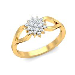 Diamond Studded Nakshatra Ring
