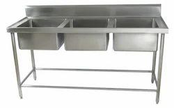 Stainless Steel Three Sink