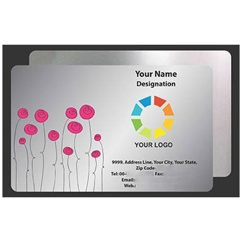 Silver business card rs 11 piece art masters print pack id silver business card colourmoves