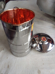 Steel Copper Jug