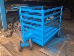 Mild Steel Material Handling Trolley