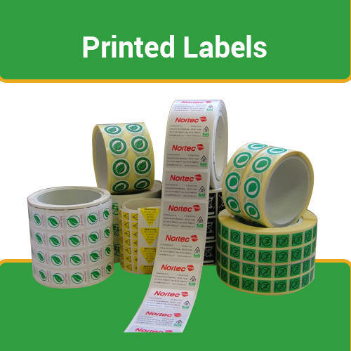 Rectangular Paper Pre printed barcode Labels