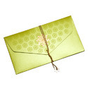 Green & Red Designer Cash Envelope