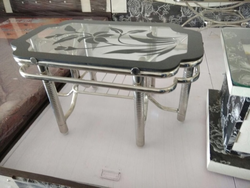 SS Glass Table