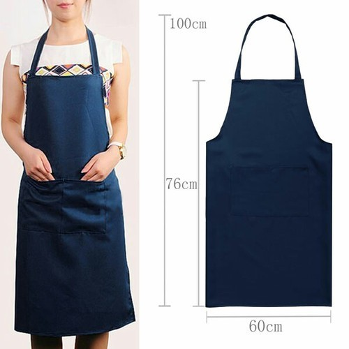 Navy Blue Blue Chef Apron