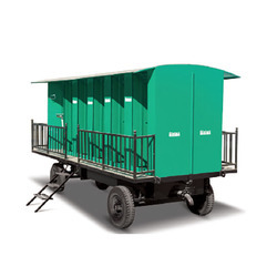 Tractor Driven Mobile Sanitation Equipment
