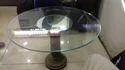 Glass Handicraft Table