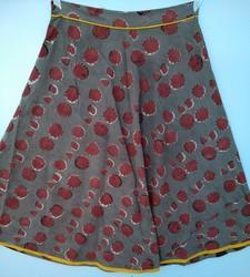 Hand Block Printed Skirt