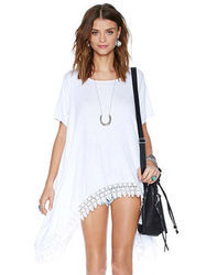 Pretty Girl Knitted Flare Top