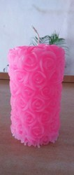 Designer Rose or Pillar Candle