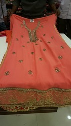 Designer Ladies Semi Stitched Suit