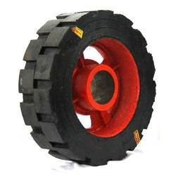 Heavy Duty Rubber Bonded Wheels