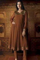 Brown Color Suit