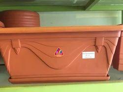 Plastic Rectangular Pot
