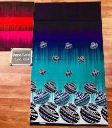 Printed Kalamkari Night Gown Material, GSM: 250-300
