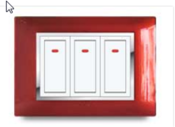 Chile Red Electrical Switch
