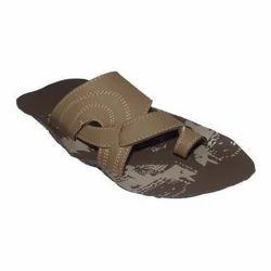 Men Pattern Design Leather Slipper