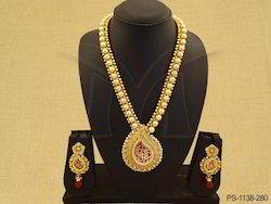 Rajwadi Designer Single Thewa Jewellery