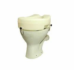 Raised Toilet Seat with Clamp 13 Cm