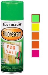 Rust Oleum Specialty Fluorescent Spray Paint