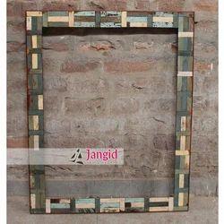 Jangid Art & Crafts Reclaimed Solid Wooden Mirror Frame Furniture