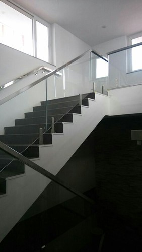 Charmant Bar Stainless Steel Modular Staircase Glass Railing