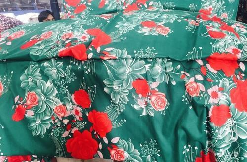 Printed 3D Bedsheets Fabric, GSM: 100 150