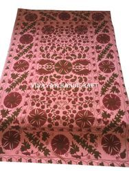 Indian Embroidery Suzani Bed Sheets