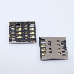 6 Pin Micro Sim Card Holder and SD Card Holder