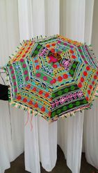Indian Handmade Embroidered Garden Umbrella