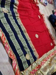 Red bridal saree