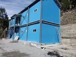 Prefabricated MS Double Storage Building