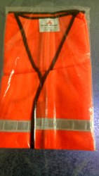 Orange Safety Jacket