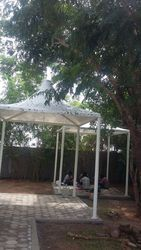 Membrane Tensile Conical Fabric Structure