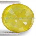 6.79 Carats Yellow Sapphire