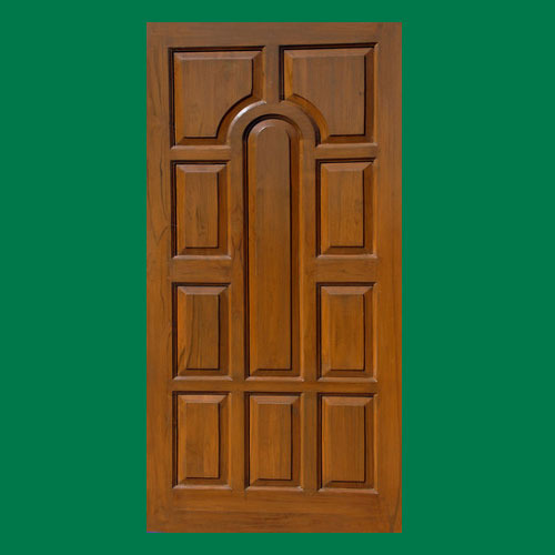 Laminated Teak Wooden Door Furniture